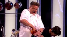 Gordon Ramsay y su 'grave accidente' viral