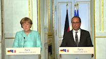 Merkel urges Greece to act quickly to submit new proposal