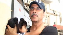 Akshay and Twinkle's daughter Nitara is getting cuter by the day