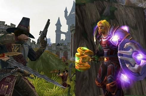 What's the difference between WAR and WoW?