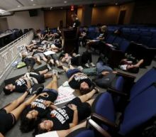 Shaken but unbowed, Florida survivors recount horrific stories as they lobby for change
