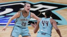 WNBA tip-off: Liberty's Sabrina Ionescu opens 25th anniversary season with winning shot