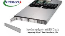 """Supermicro Introduces Next-Generation Storage Form Factor with New Intel """"Ruler"""" All-Flash NVMe 1U Server and JBOF"""