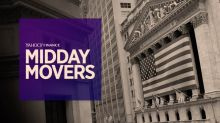 Yahoo Finance Live: Midday Movers - Jan 30th, 2018