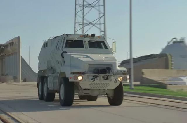 NASA tests battle trucks as astronaut escape vehicles