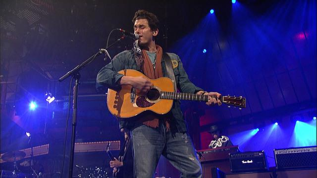 Live On Letterman - John Mayer: If I Ever Get Around To Living