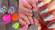 10 inspirações fáceis de nail art para o Carnaval