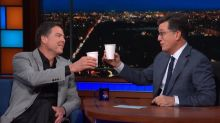 Colbert receives third-highest 'Late Show' ratings ever with Comey interview