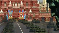 Raw: Russia Holds Massive 'Victory Day' Parade