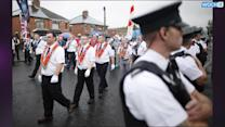 Belfast Parade Ends Without Clashes For First Time In Years