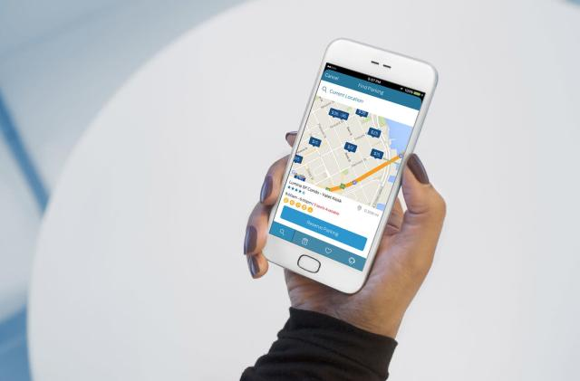 Ford's app lets you find and pay for garage parking