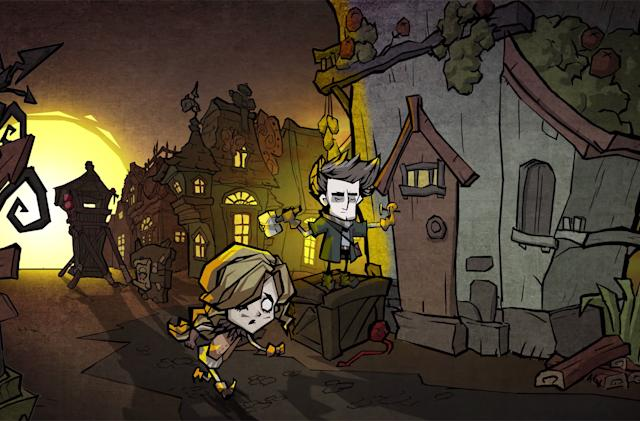 The next 'Don't Starve' game is a mobile title from Tencent