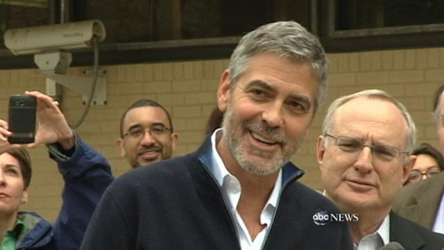 George Clooney Arrested: Post-Jail Interview