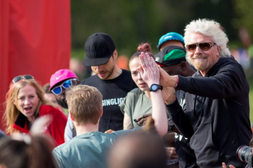 Virgin Sport boss Sir Richard Branson launches Festival of Fitness