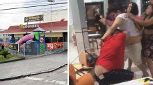 Violent brawl after McDonald's runs out of Big Macs