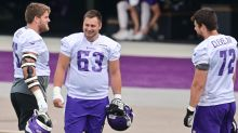Vikings getting O-line line in order, and it could feature Pat Elflein at right guard