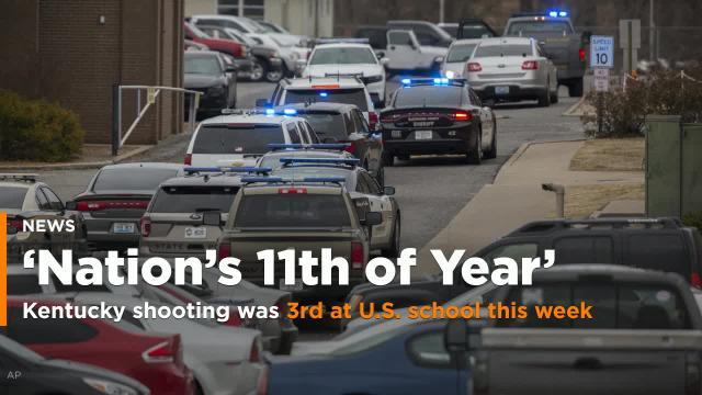 Shooting In Kentucky 3rd In U S Schools This Week