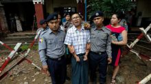 Myanmar police insisted on meeting, gave documents: Reuters reporter