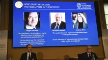 3 scientists win Nobel physics prize for black hole research