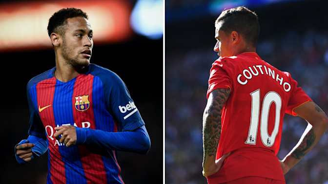 Gossip: Barcelona set to bid for Coutinho with Neymar '95 percent certain' to leave
