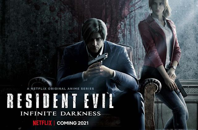 Netflix unveils a 'Resident Evil' CG anime series arriving in 2021