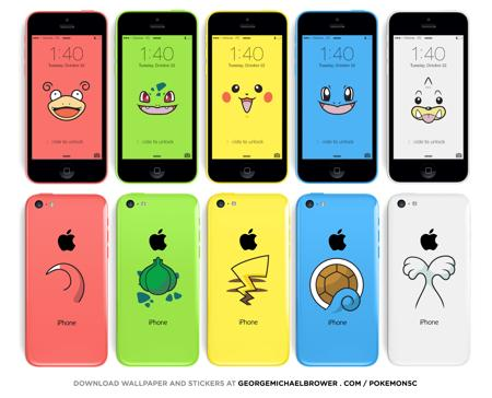 You can now turn your iPhone 5c into an adorable Pokémon