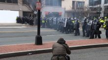 DC protesters clash with police after inauguration