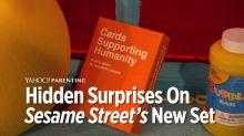 Hidden 'Easter Eggs' on the New 'Sesame Street' Set