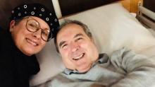 Lamberto Sposini ricoverato in clinica: vediamo cosa è successo