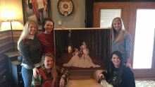These 4 daughters gave their mom a Christmas gift 12 years in the making