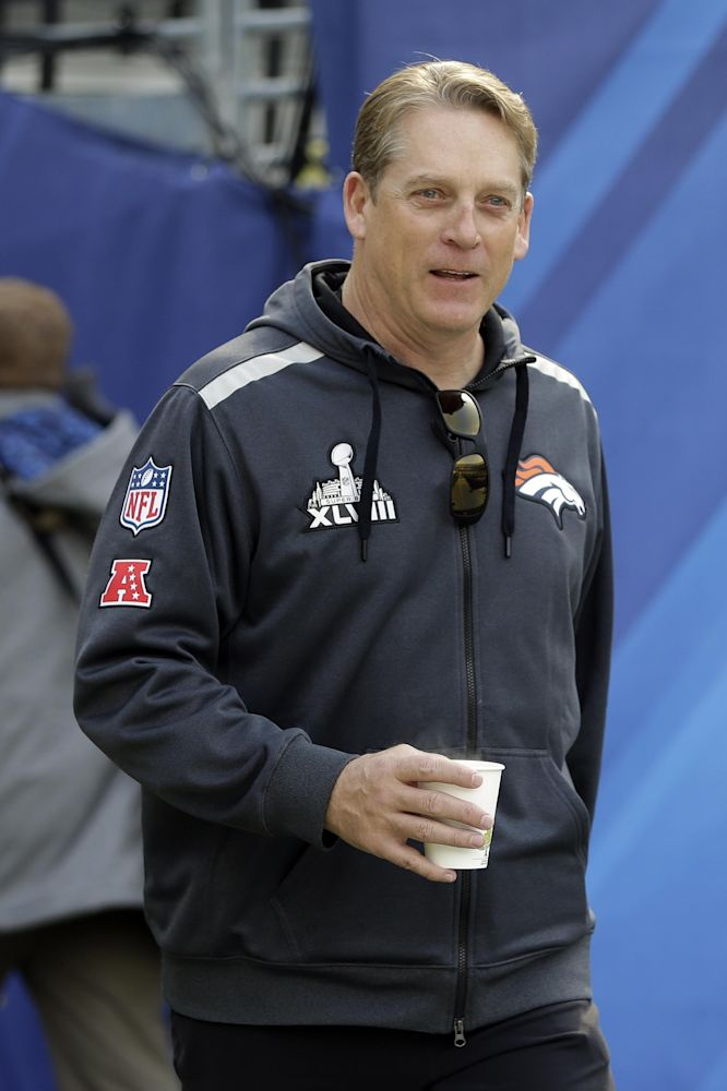 Del Rio signs 2-year deal with Broncos