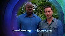 CBS Cares - Alex O'Loughlin and Chi McBride on Typhoon Haiyan