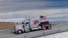 Family mourns late trucker with semi escort to his funeral: 'Anyone who knew my dad knows he likes to go big'