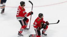 Blackhawks push Oilers to brink of elimination with 4-3 win