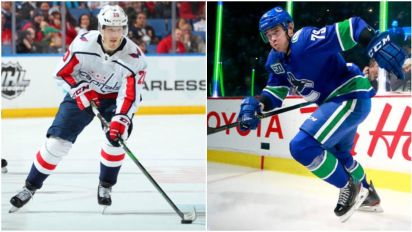 Two more players leave NHL bubble