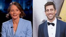 Jodie Foster has something special planned for Aaron Rodgers if she wins Golden Globe