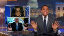Trevor Noah weighs in on #Oprah2020 on 'The Daily Show'