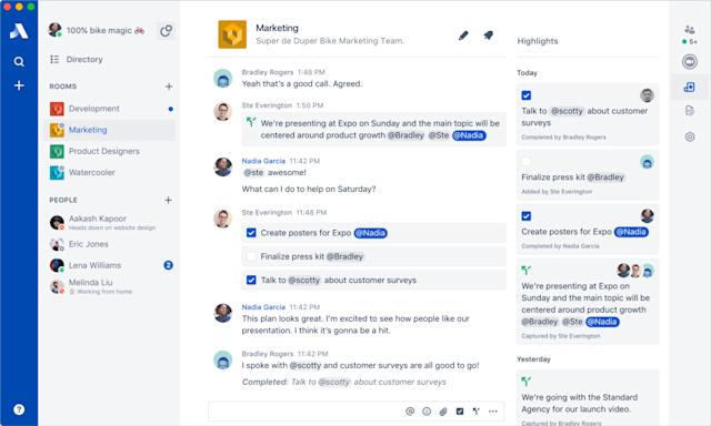 The makers of HipChat are launching their Slack competitor, Stride