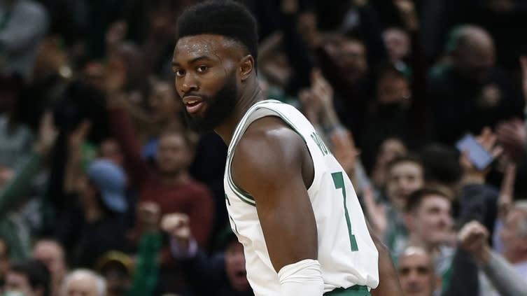 NBA Rumors: Celtics' Jaylen Brown drawing trade interest before draft