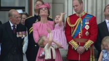 Prince George and Princess Charlotte delight at Trooping the Colour parade to celebrate the Queen's birthday