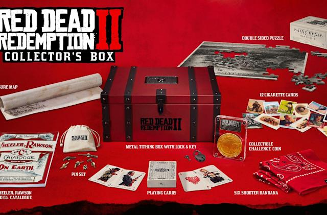 'Red Dead Redemption 2' has a fancy special edition without the game (updated)