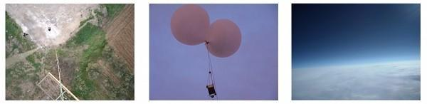 Teens take pictures of space with balloon, Nikon Coolpix camera