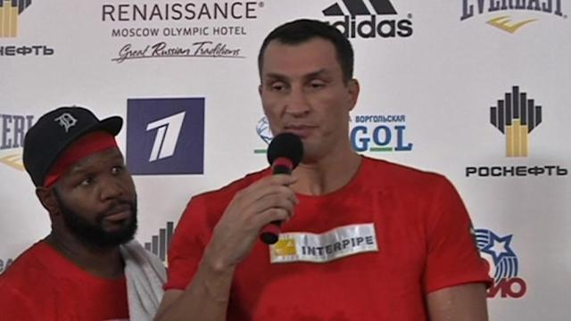 Klitschko and Povetkin preview their fight