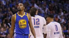 Kevin Durant hit 'rock bottom' with doubt after spurning Thunder for Warriors
