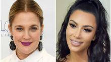 Kim Kardashian Sent Drew Barrymore Her New Kimoji Peach Fragrance and She Loves It