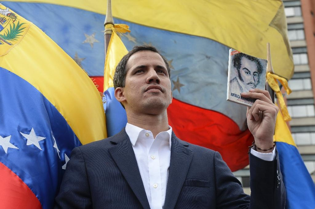 Venezuela's National Assembly head Juan Guaido has been recognized as acting president by the US, Brazil, Canada, Colombia and around a dozen other countries However China, Cuba, Mexico, Russia and Turkey voice support for Maduro, who breaks off diplomatic ties with Washington