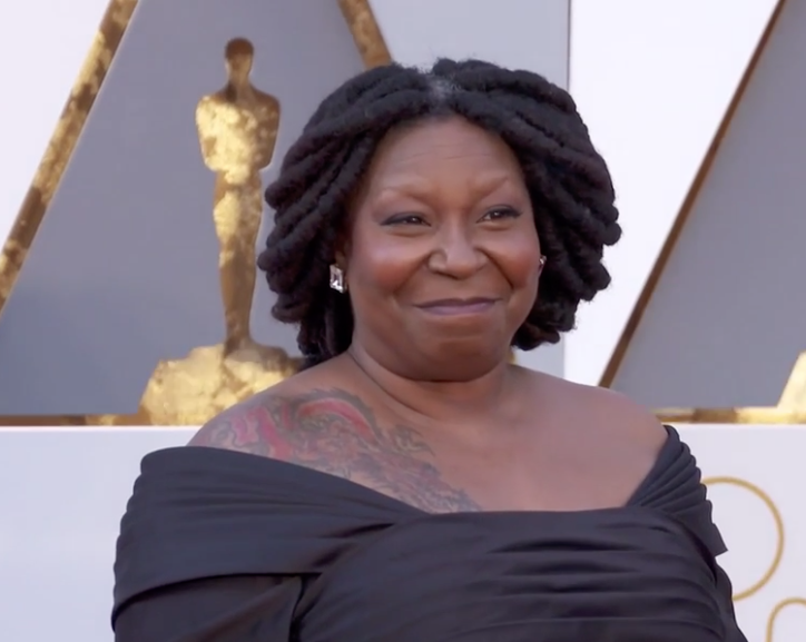 Image result for Whoopi Goldberg: After Trump's Bahamas Comment, How Can You Not See He Is Racist?