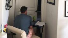 Filha registra momento emocionante do apoio de seu pai à mãe com câncer