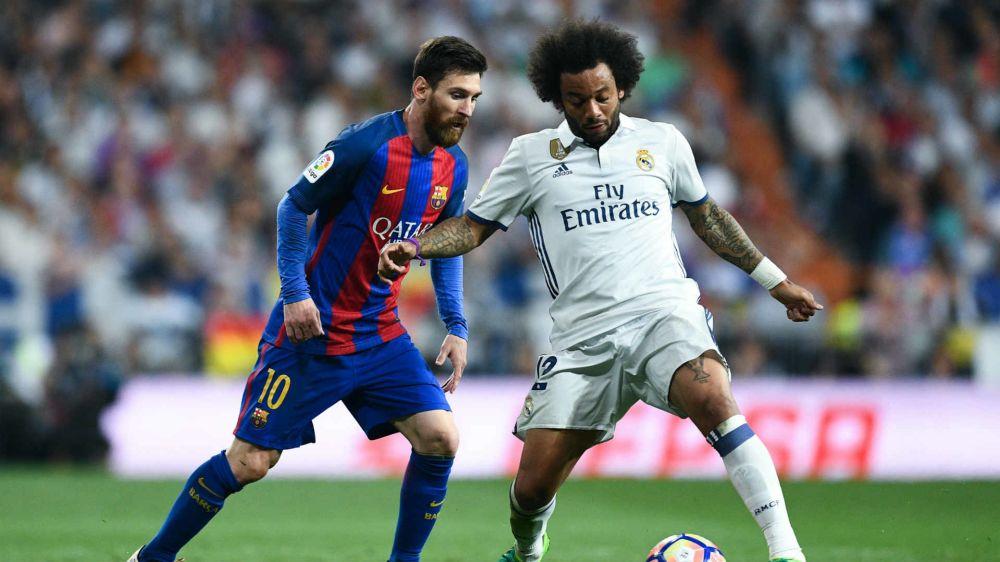 """""""Real Madrid não é inferior ao Barcelona após a derrota"""", diz Marcelo"""