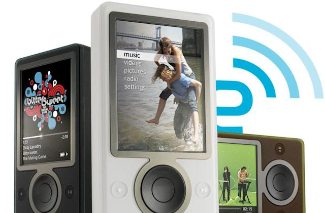 Engadget's relaunch giveaways: the final Zune